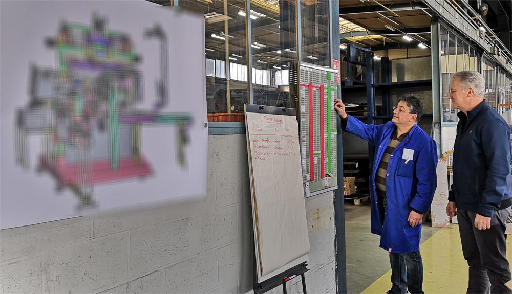 Machines DUBUIT - Lean Manufacturing